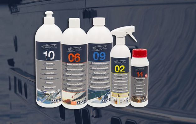 New packaging at Nautic Clean!