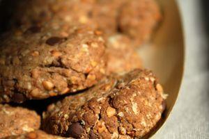 Biscuits aux graines de kasha grillé et aux pépites de chocolat