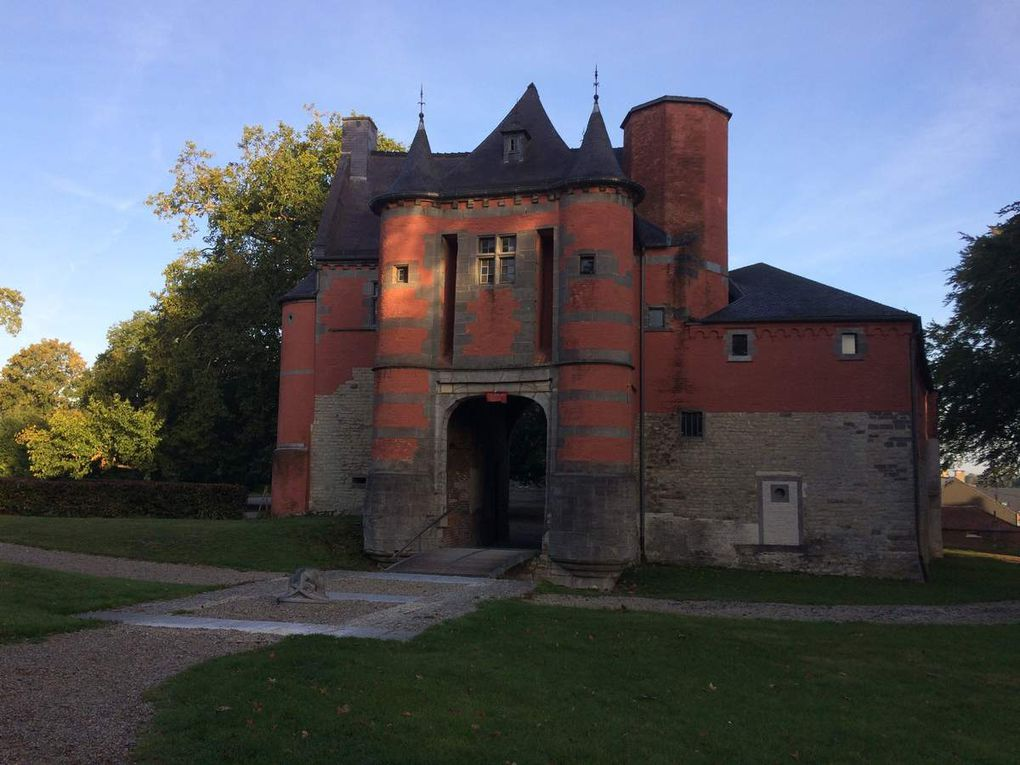 So British ! Au Château de Trazegnies le 29 Septembre 2018