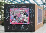 Urban Activity aux Lilas, le street-art s'expose: Speedy Graphito, Jef Aérosol, Rero, Yeemd etc ...