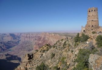USA 2008 - part 11 – Le Grand Canyon et... une tour.