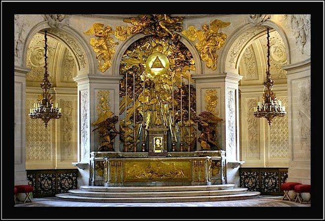 Chapelle Royale de Versailles - le Maître-Autel
