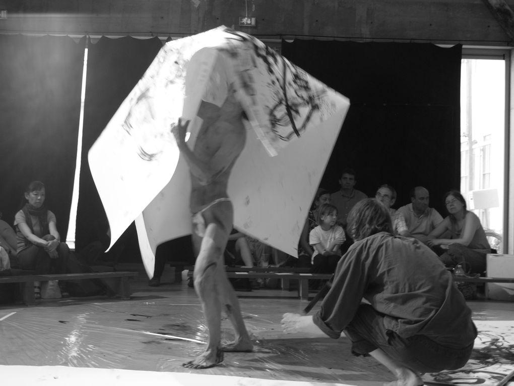 Performance avec Atsushi Takenoutchi