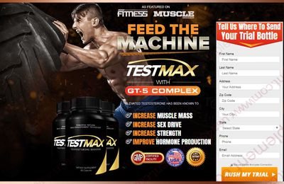 Testmax - Boost Testosterone Level Naturally & Where To Buy?