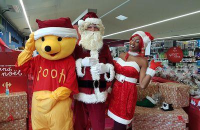 Salies du Salat -Noël avec Carrefour Contact et l'APEAI