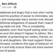 Ben Affleck on Twitter