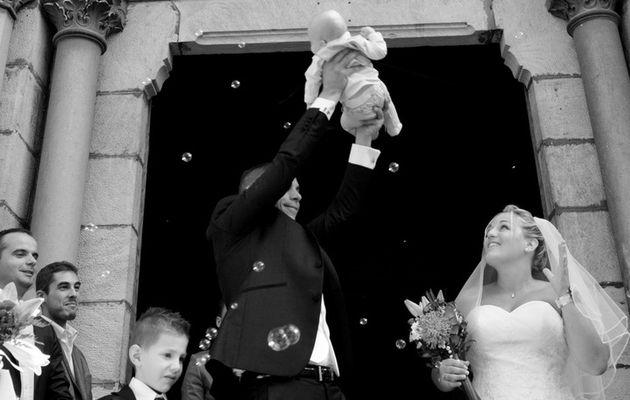 Mariage plein d'émotion en Ardèche 1/2   Photographe mariage Aubenas