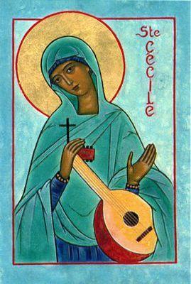 Vie de sainte Cécile