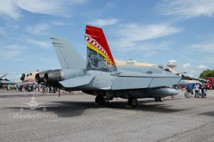 """McDonnell Douglas CF-188 """"Hornet"""" -  4 Wing - 410 Squadron """"Cougars"""" - 75 years"""