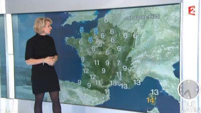2013 02 28 - NATHALIE RIHOUET - FRANCE 2 - METEO @07H25