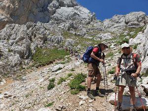 Randonnée Chaîne du Bargy, Pointe du Midi avec L'ADAPAR 19.07.19