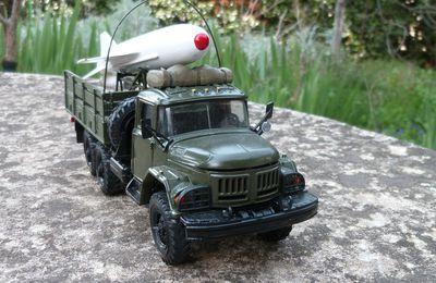   ZIL-131 transport de missile P 15 Termit  (Base Elecon - 1/43 - par Hervé C.) 