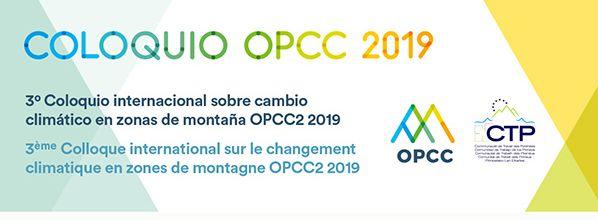 Le 3eme colloque international sur le changement climatique en zones de montagne aura lieu les 22 et 23 octobre prochains à Jaca (Huesca, Espagne)