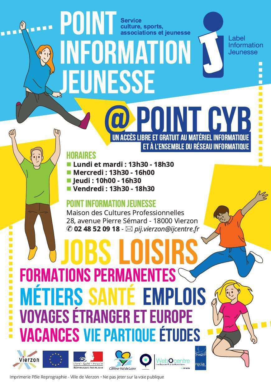 Le Point information jeunesse déménage place de la résistance