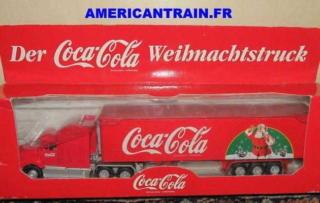 Semi-remorque Coca-Cola Noel 1/72eme Hermey
