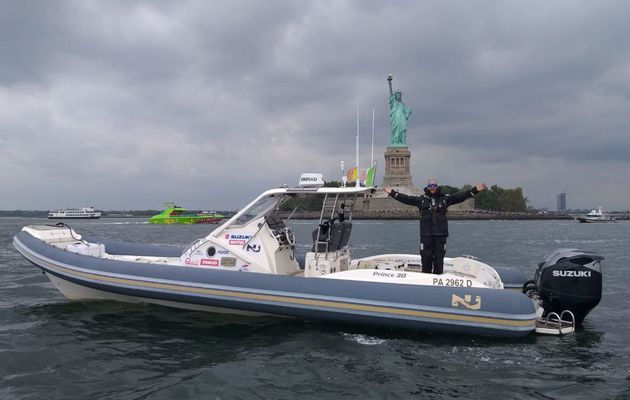Suzuki powers world record RIB voyage from Palermo to New York