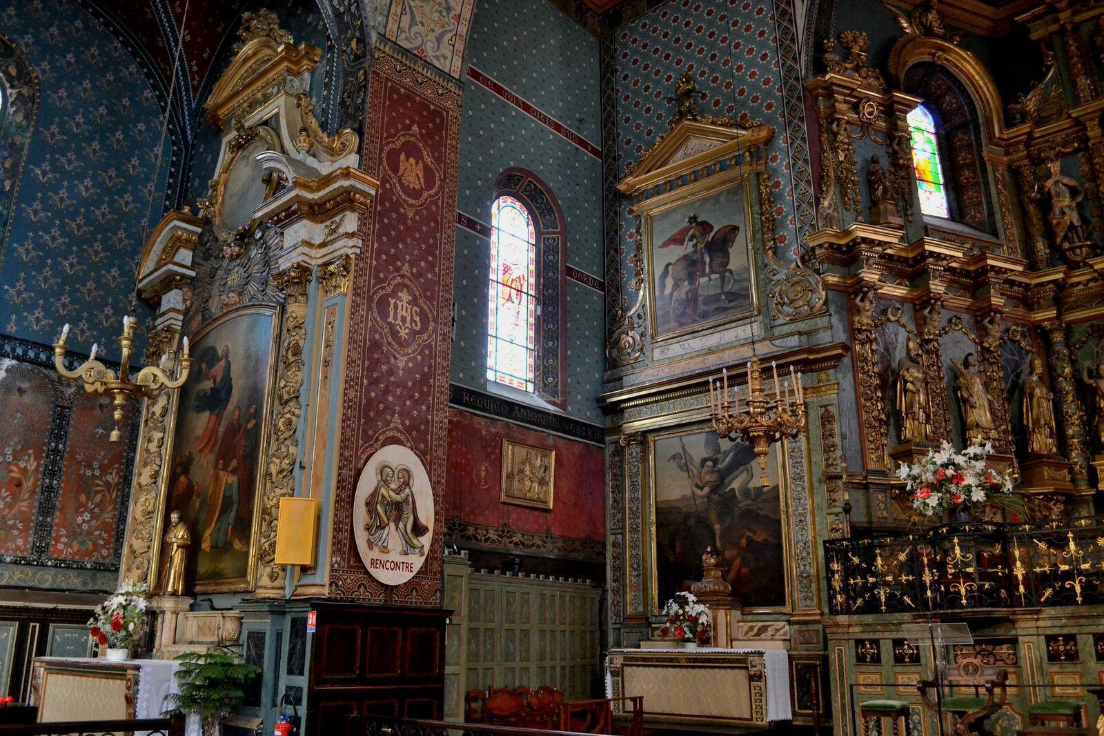 L'église Saint-Jean-Baptiste...