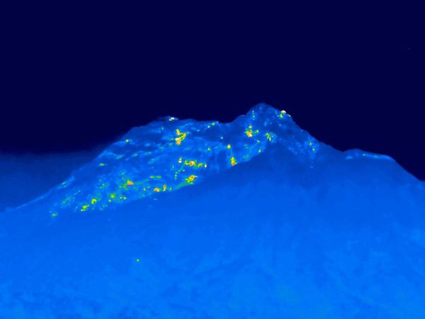 Le dôme de Sougrière Hill / Montserrat le 19.10.2020 - photos MVO - un clic pour agrandir
