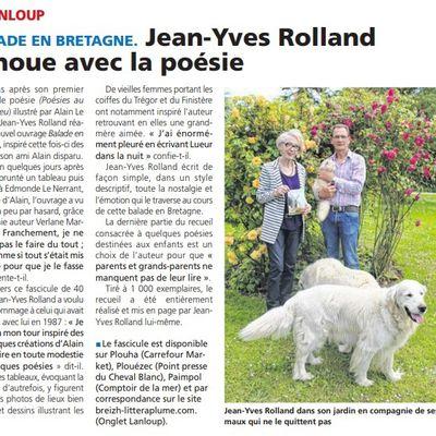 Jean-Yves ROLLAND se balade en Bretagne
