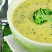 Soupe de brocoli pomme de terre - Weight Watchers au Cookeo
