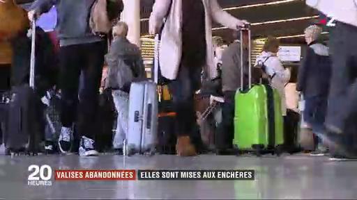 Allemagne : Les aéroports vendent au enchères les bagages abandonnés ou oubliés