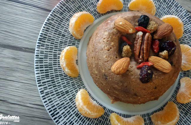Recette : petit déjeuner, mes recettes de bowlcake protéiné