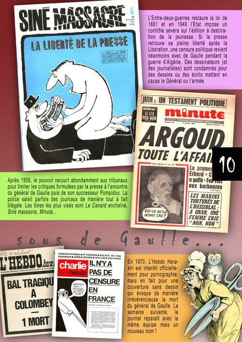Le dessin de presse, entre liberté d'expression et censure : exposition à imprimer