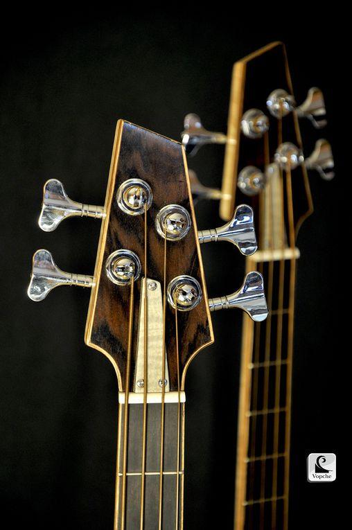 De la fabrication à l'exposition des modèles droitier et gaucher au salon international de la guitare de Montréal 2012