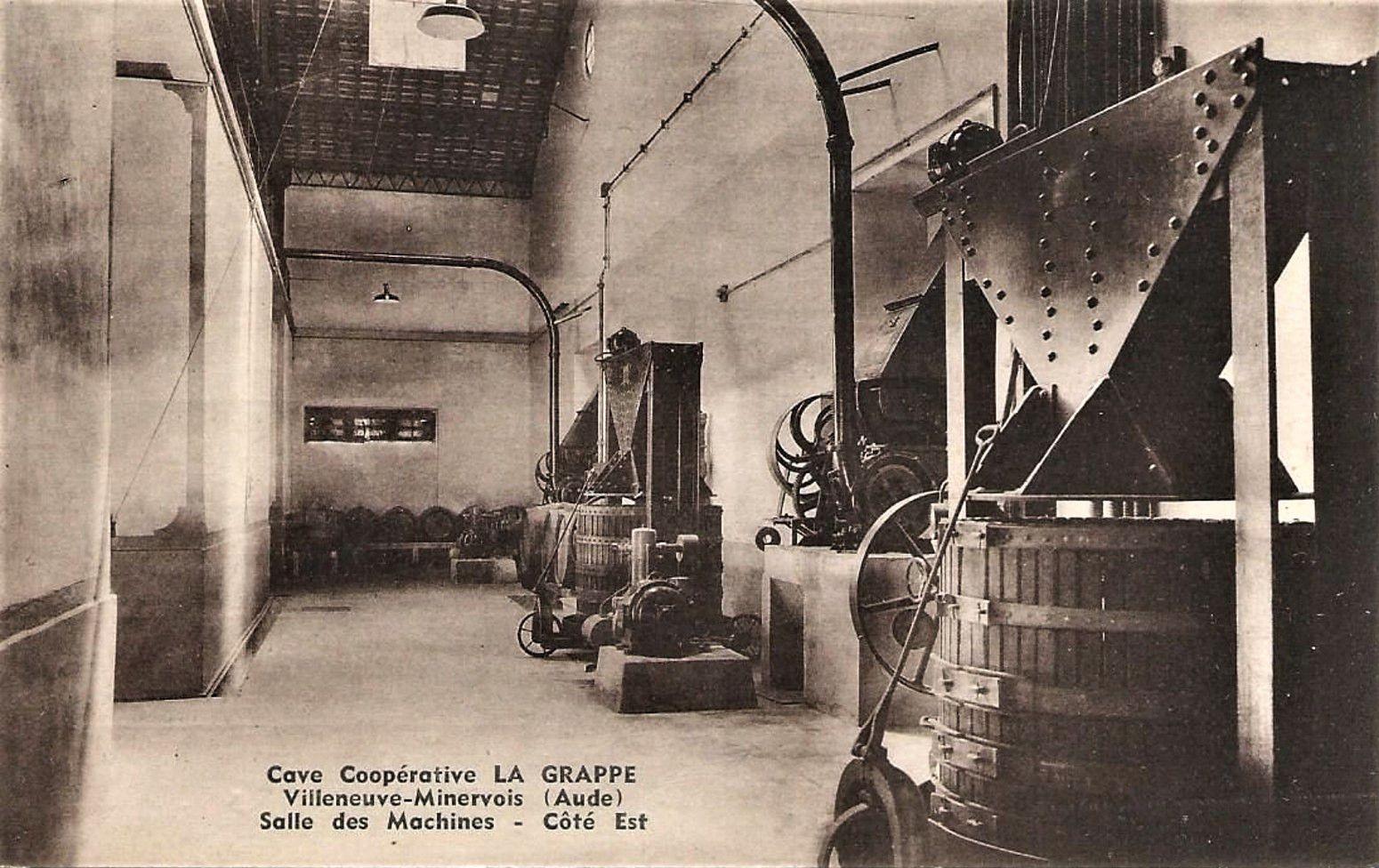 Cave coopérative de Villeneuve-Minervois.