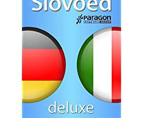 Slovoed Deluxe German-Italian dictionary (Slovoed dictionaries) (English Edition)