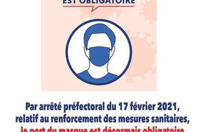 Méricourt : le port du masque désormais obligatoire dans toute la ville