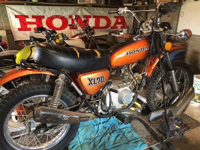 Honda XL 70 et XL 80