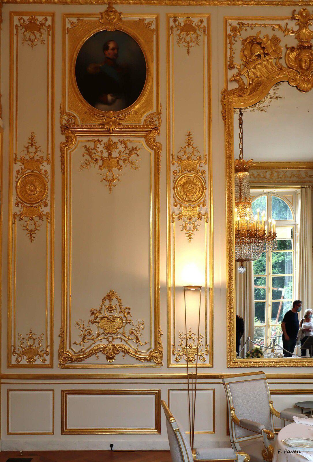 Palais de l'Elysée, salon des portraits.