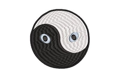 BRODERIE CHAT YING YANG