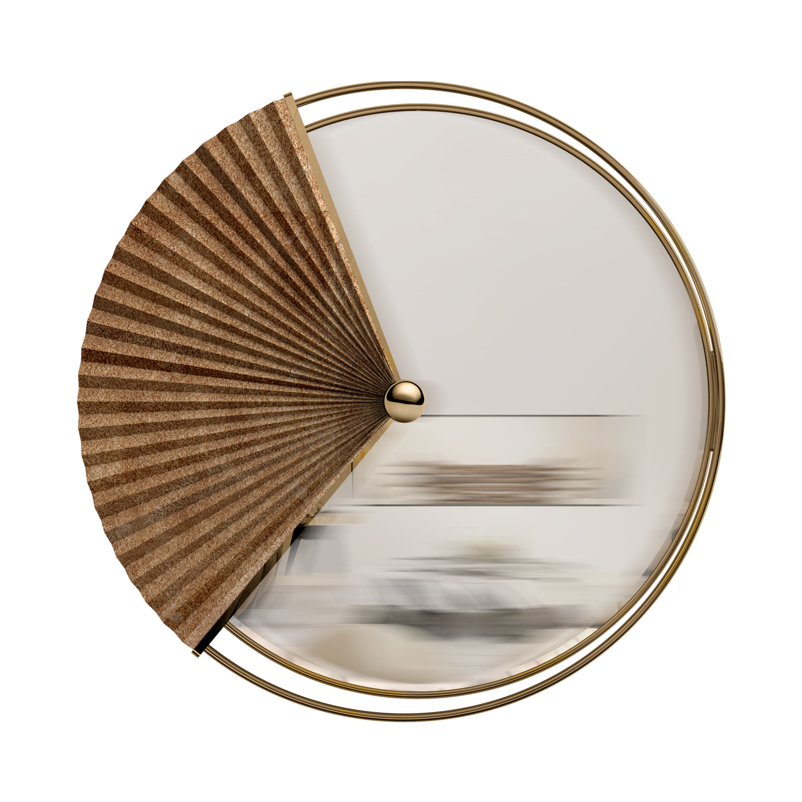 Flack wall mirror. A classic lamp designed to impress with its classic mood.