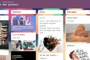 Padlet La fête des parents