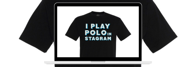 """I Play Polo In"" - Claude & Storz"