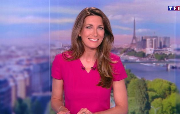 📸20 ANNE-CLAIRE COUDRAY @ACCoudray @TF1 @TF1LeJT pour LE 20H WEEK-END #vuesalatele