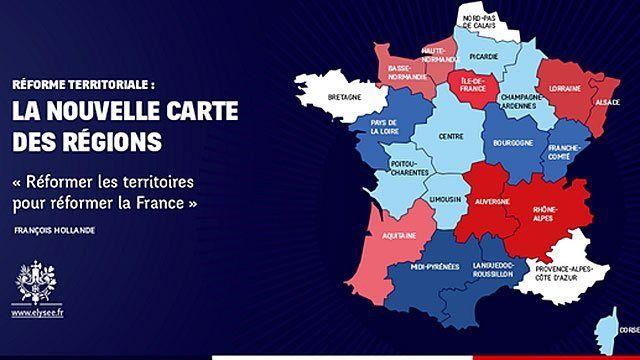 le Sénat rejette la nouvelle carte des régions