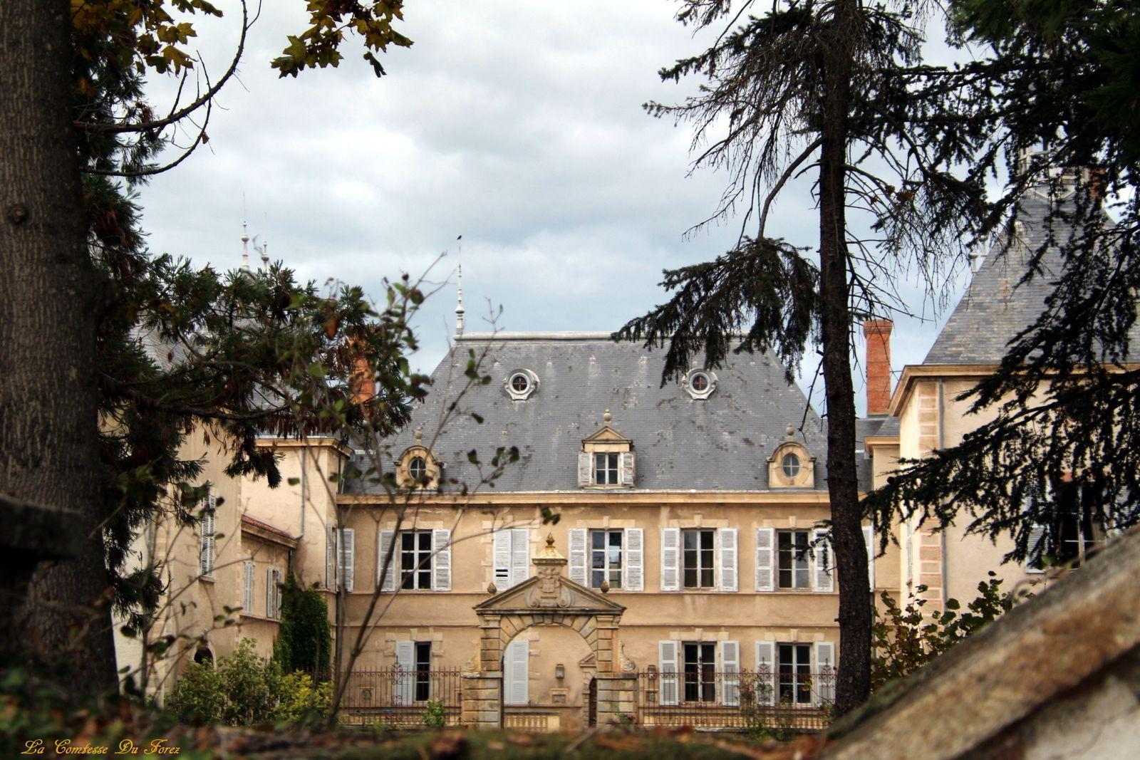 Château de Vaugirard à Champdieu (Loire, 42)