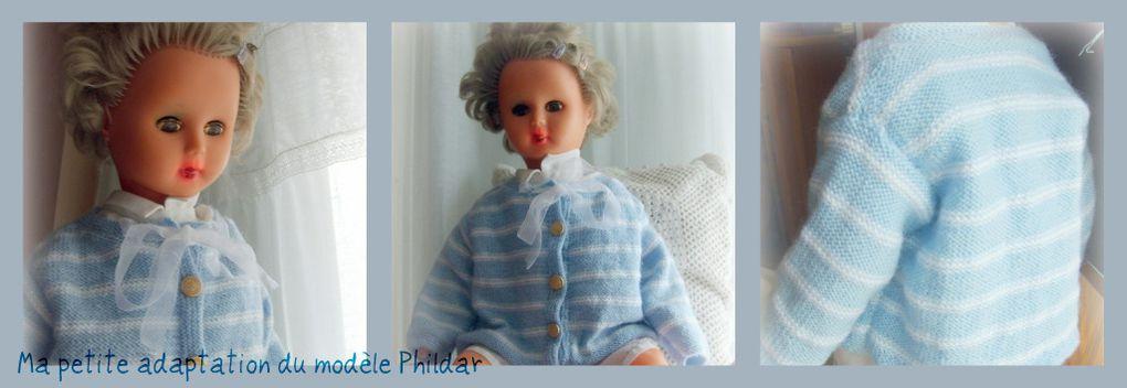 Ma première Poupée baptisée Renée qui joue bien souvent la mannequin-layette.