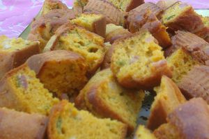 Cakes curry/roquette