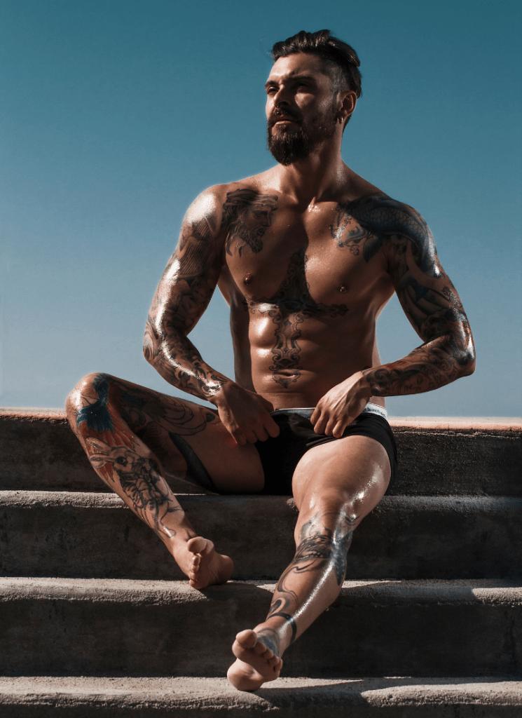 Leonardo Araujo par Bruno Lozich