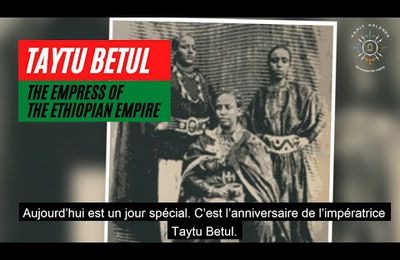 Kamit Kalenda - Taytu Betul (1851-1918) the ethiopian empress who defeatd Italy