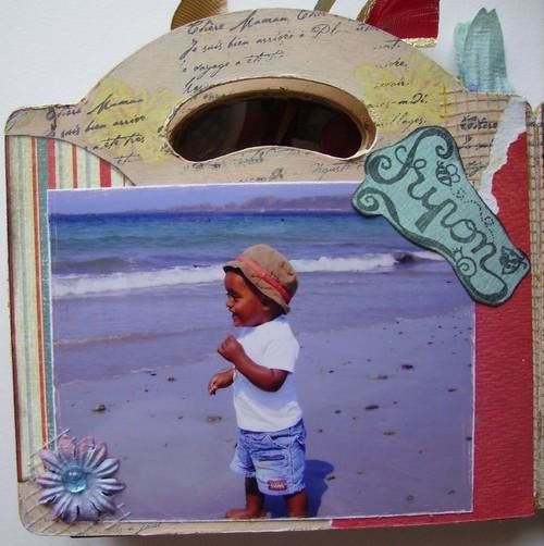 Album - mon mixed média et objets altérés