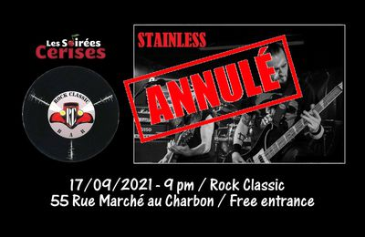 🎵 Stainless (Hard rock / Heavy metal covers band) @ Rock Classic - annulé