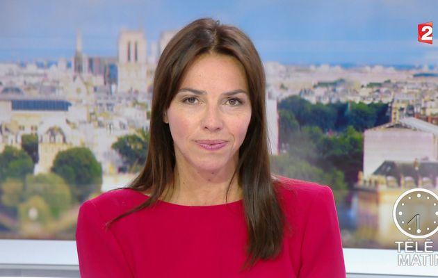 📸6 SOPHIE LE SAINT pour LE JT de 7H30 ce matin @France2tv @telematin #vuesalatele