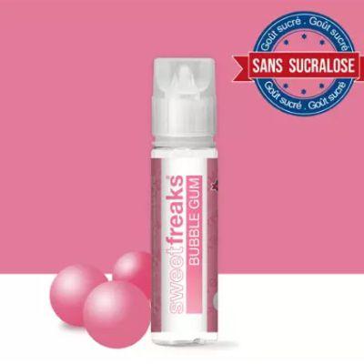 Test - Eliquide - Bubble Gum gamme Sweet de chez Freaks