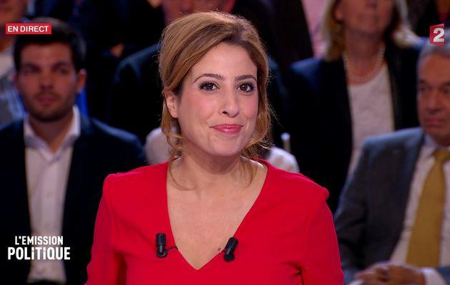 LEA SALAME @LeaSalame ce soir #EntretienPolitique @France2tv #vuesalatele