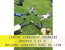 """Condorcet-Prim-Groupe 3 et 4-Compétition des """"maisons humaines""""-Parc du lion"""